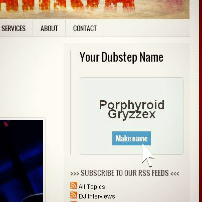 DJ Name Generator