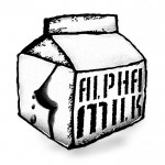 Alpha Milk Recordings Logo