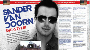 Sander Van Doorn Interview Hammarica PR 657 DJ Agency Electronic Dance Music News