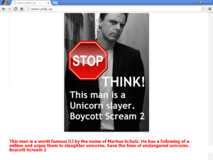 Markus Schulz Unicorn Slayer Boycott