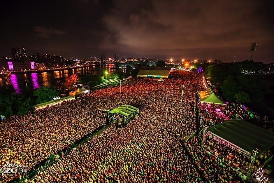 TECHNO WITH ITS OWN STAGE IN  Electric Zoo 2014 Main Stage
