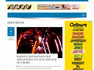 EDM DJS BLOG