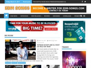 EDM Songs Blog