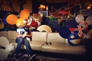 Deadmau5 at home