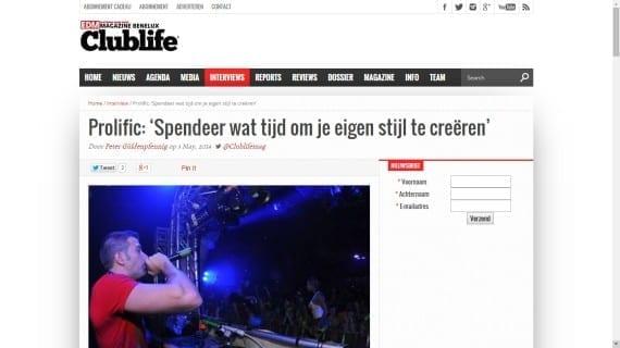 Clublife Magazine www.edmpr.com