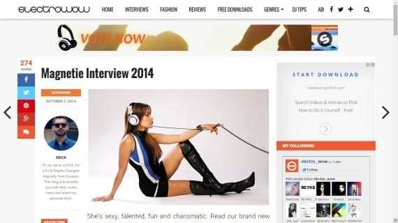 Magnetie Electrowow Interview