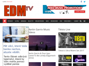 EDM TV Blog
