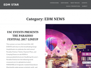 EDM Star Blog