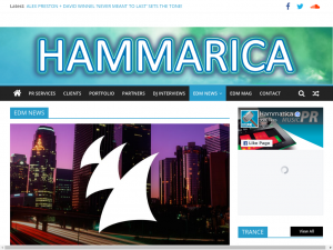 Hammarica EDM News Blog