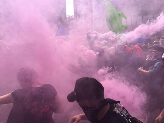 PROTEST RAVE